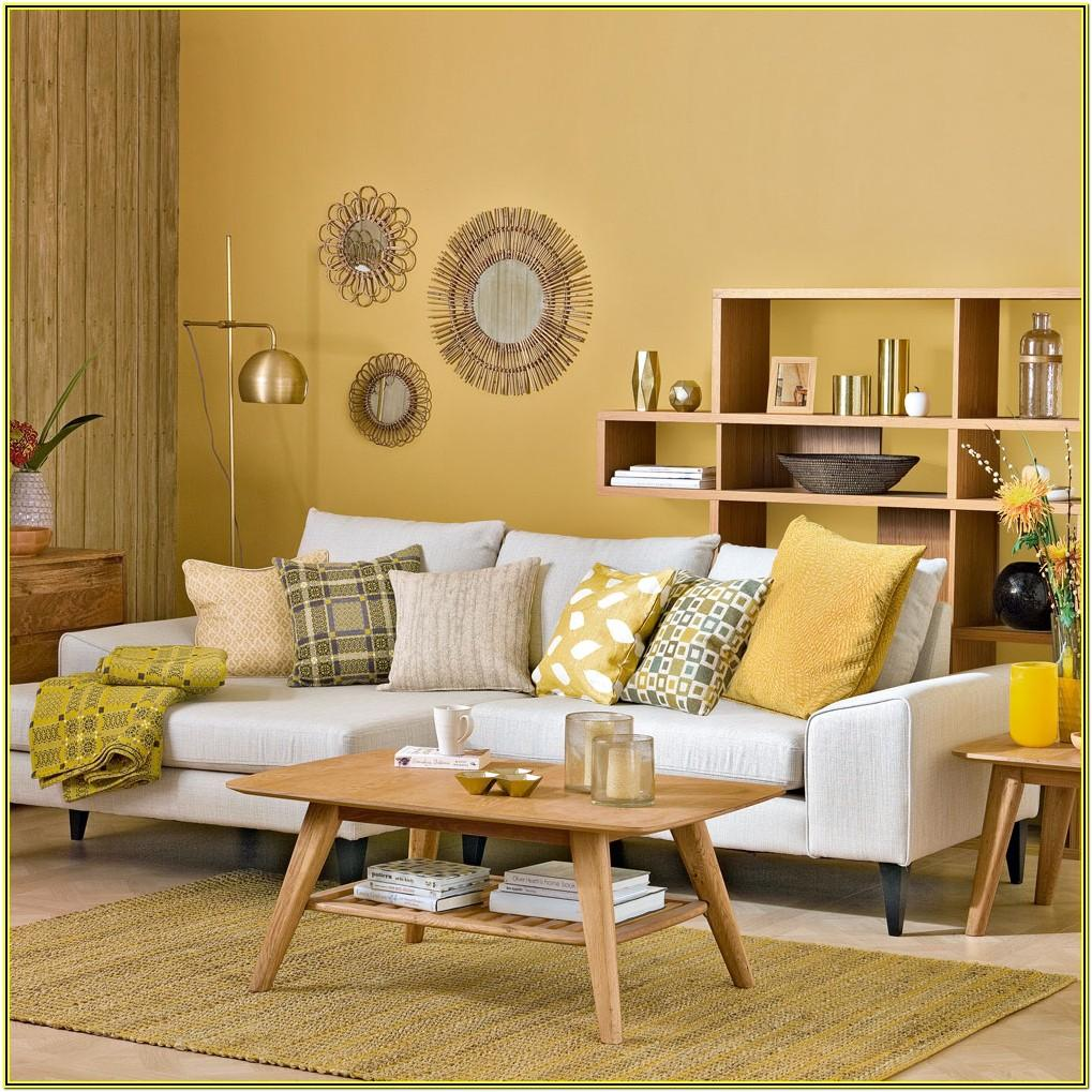 Living Room Ideas With Mustard Yellow Sofa