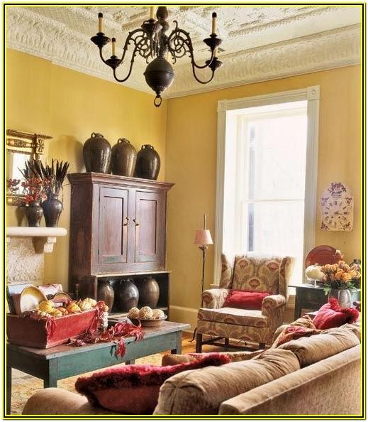 Living Room Ideas With Mustard Yellow Walls