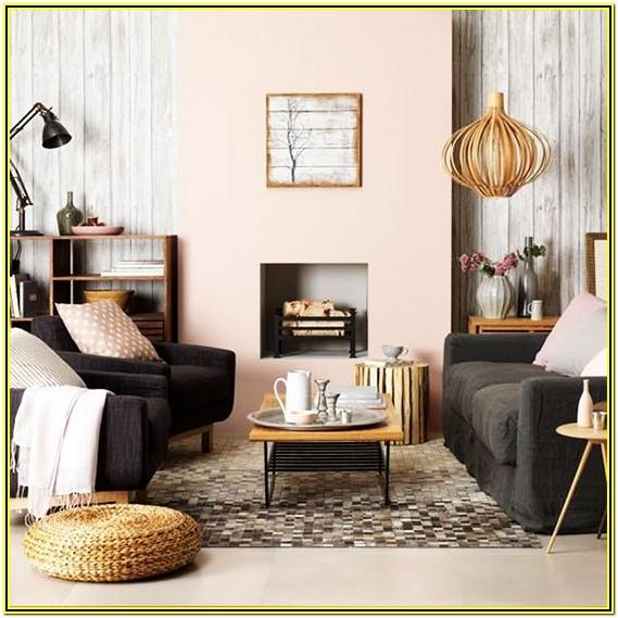 Living Room Ideas With Pink Walls