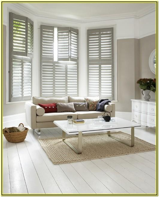 Living Room Ideas With Plantation Shutters