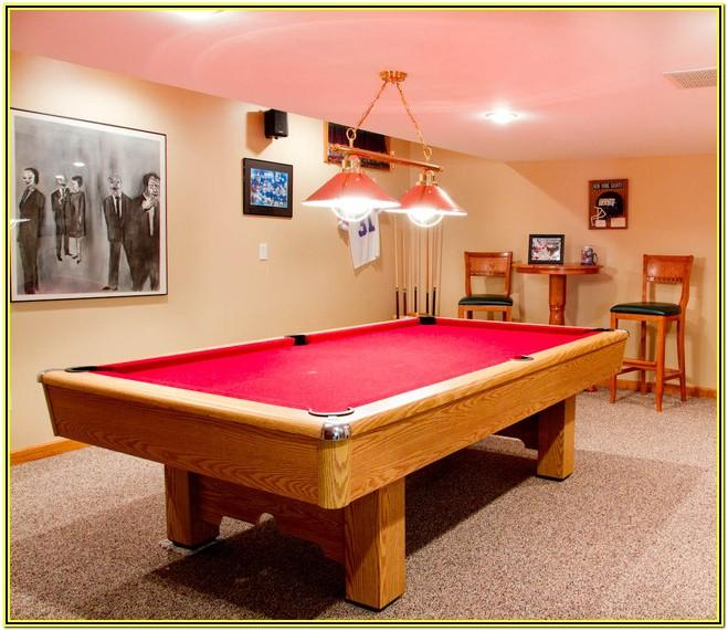 Living Room Ideas With Pool Table