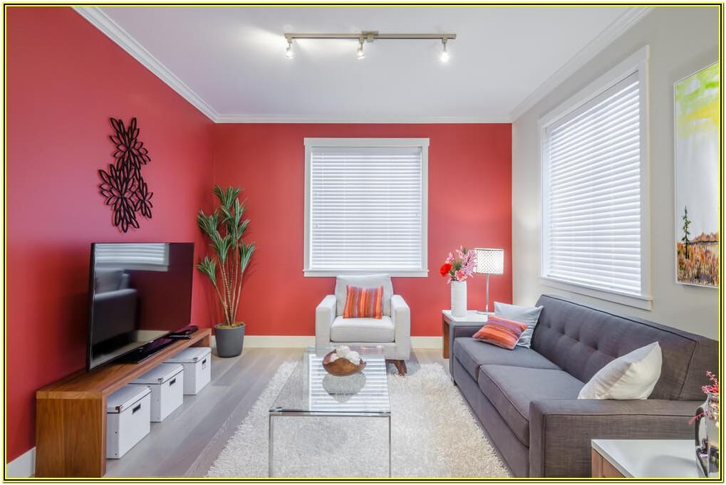 Living Room Ideas With Red Accent Wall