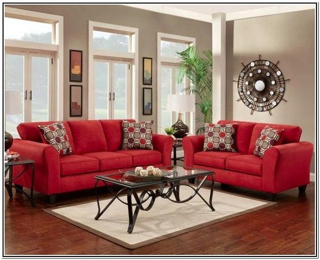 Living Room Ideas With Red Furniture