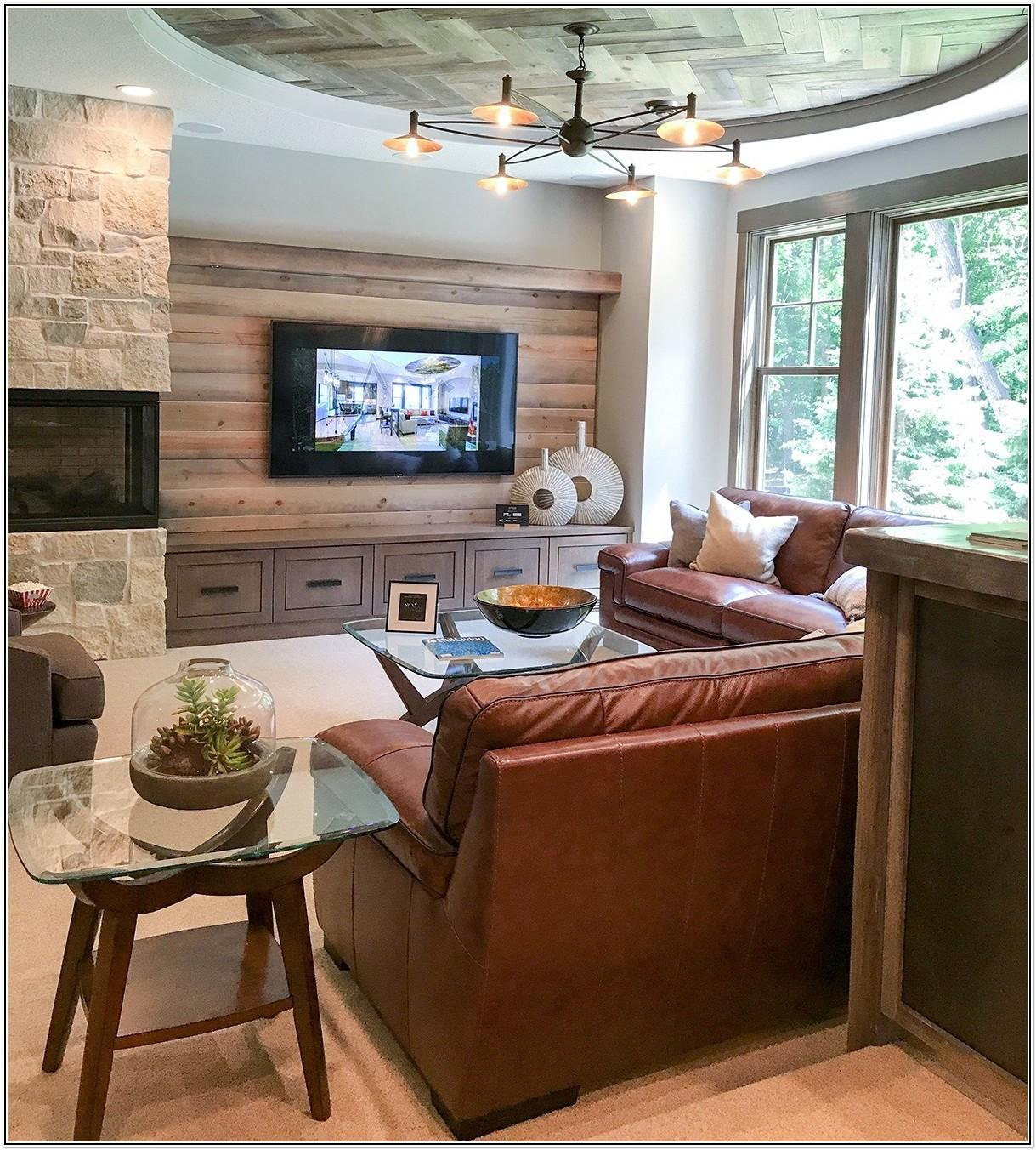 Living Room Ideas With Sectionals And Corner Fireplace