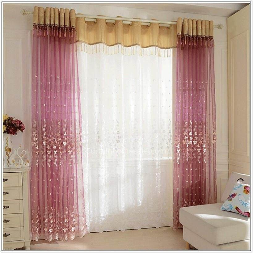 Living Room Ideas With Sheer Curtains