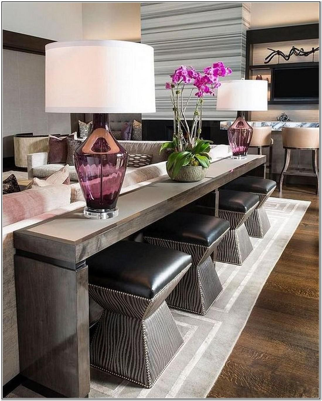 Living Room Ideas With Sofa Table