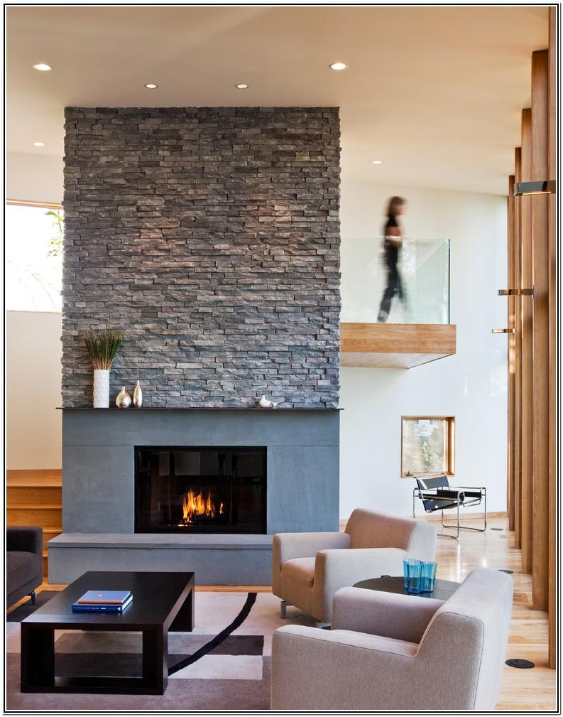 Living Room Ideas With Stone Fireplace
