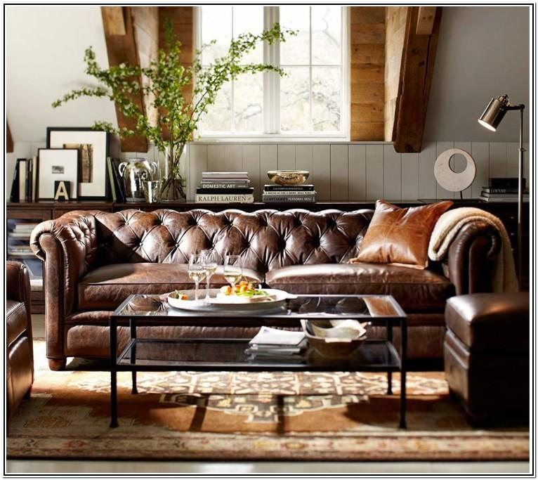 Living Room Ideas With Tufted Sofa