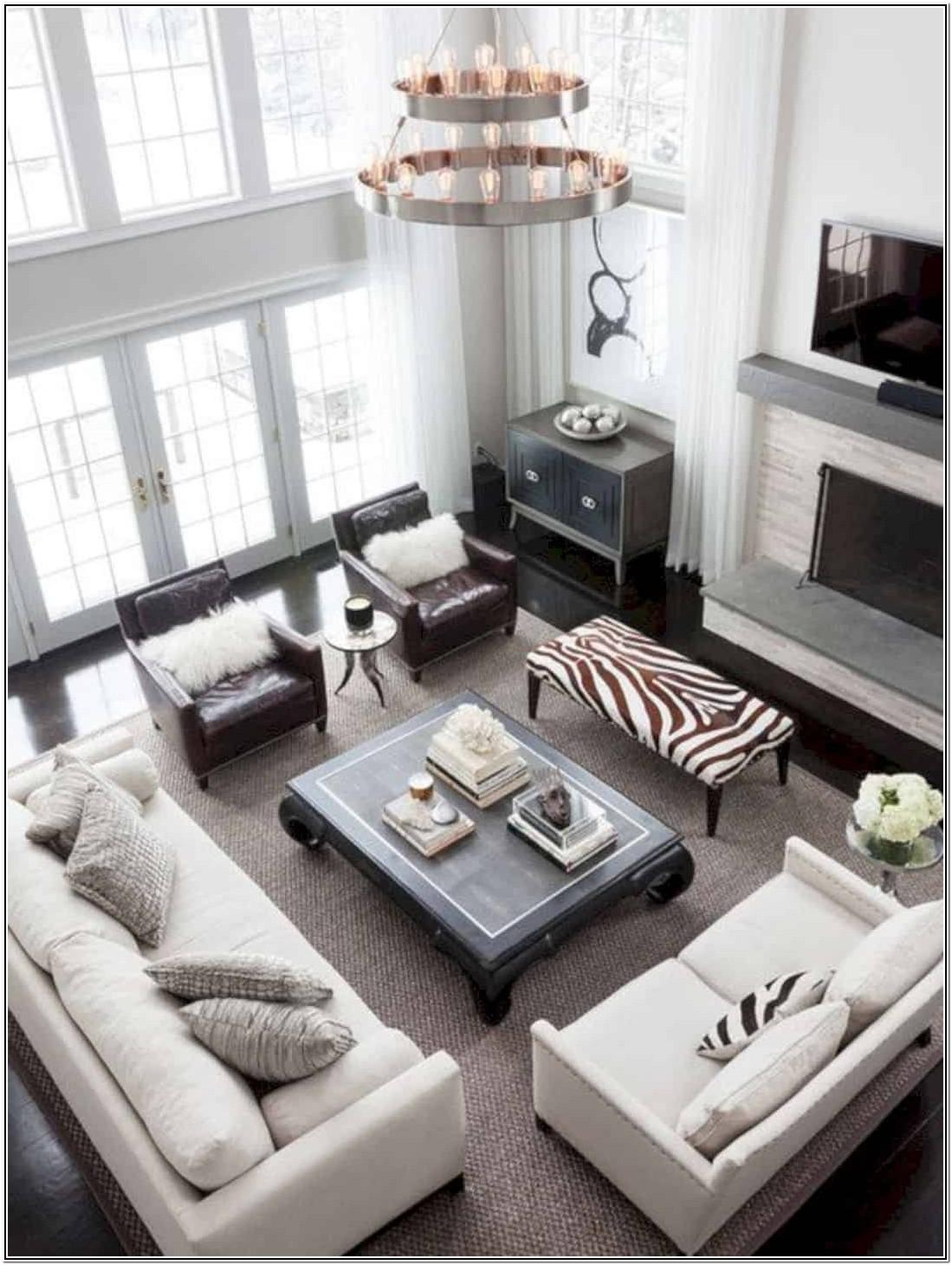Living Room Ideas With Two Sofas