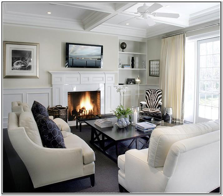 Living Room Ideas With Wainscoting