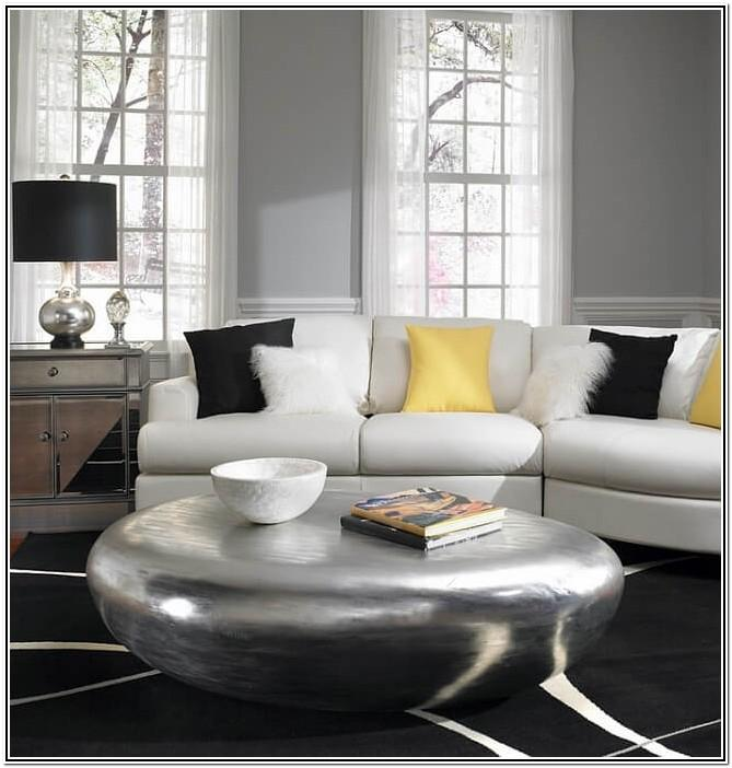 Living Room Ideas With Yellow And Gray