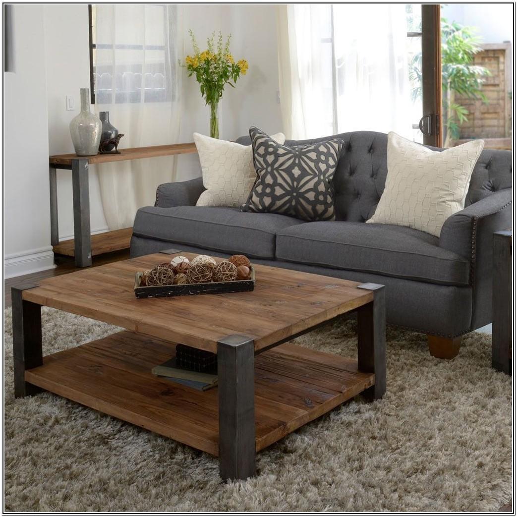 Living Room Ideas Wood Coffee Table