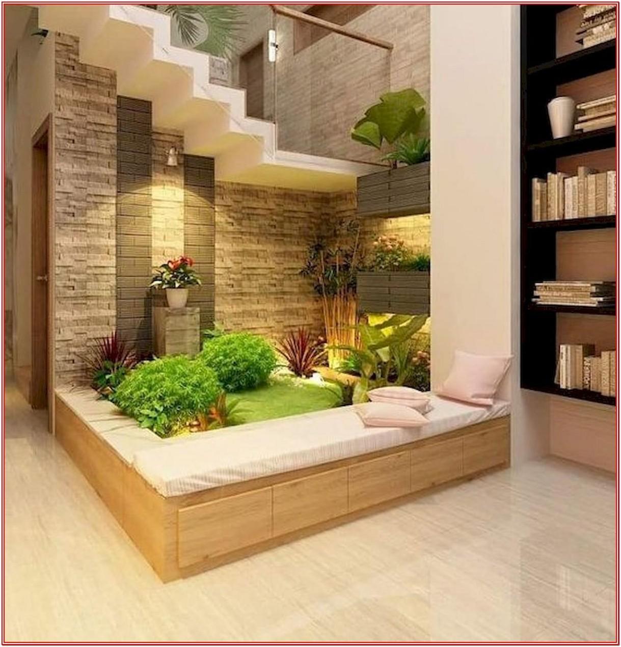 Living Room Indoor Garden Ideas
