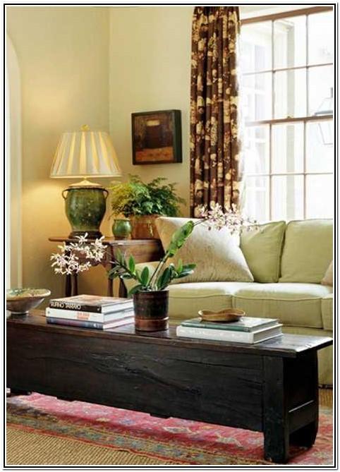 Living Room Indoor Plant Decor Ideas