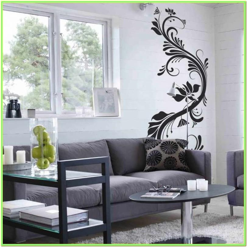 Living Room Interior Wall Paint Design Ideas