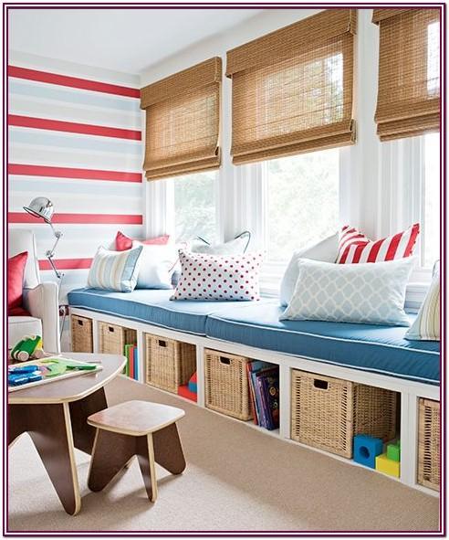 Living Room Kids Storage