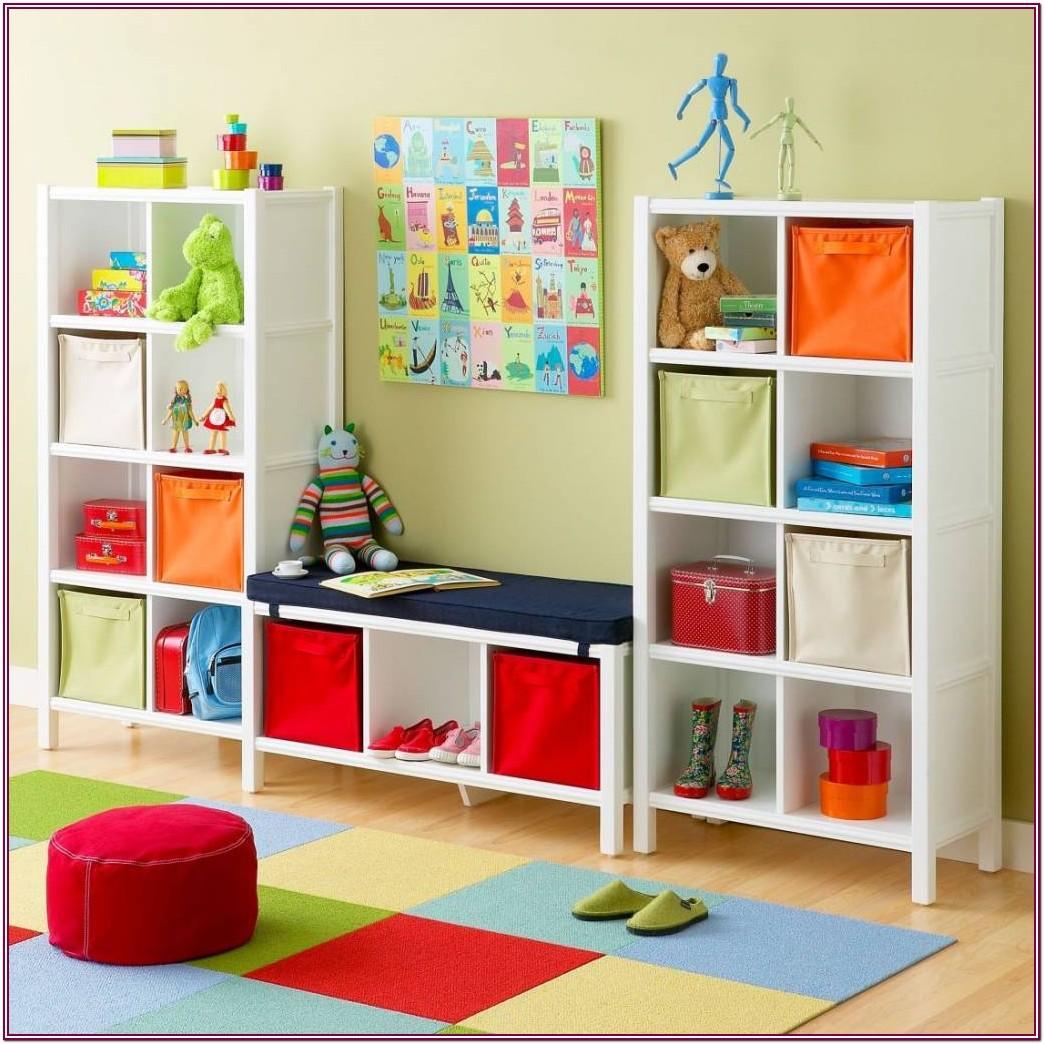 Living Room Kids Toy Storage Ideas