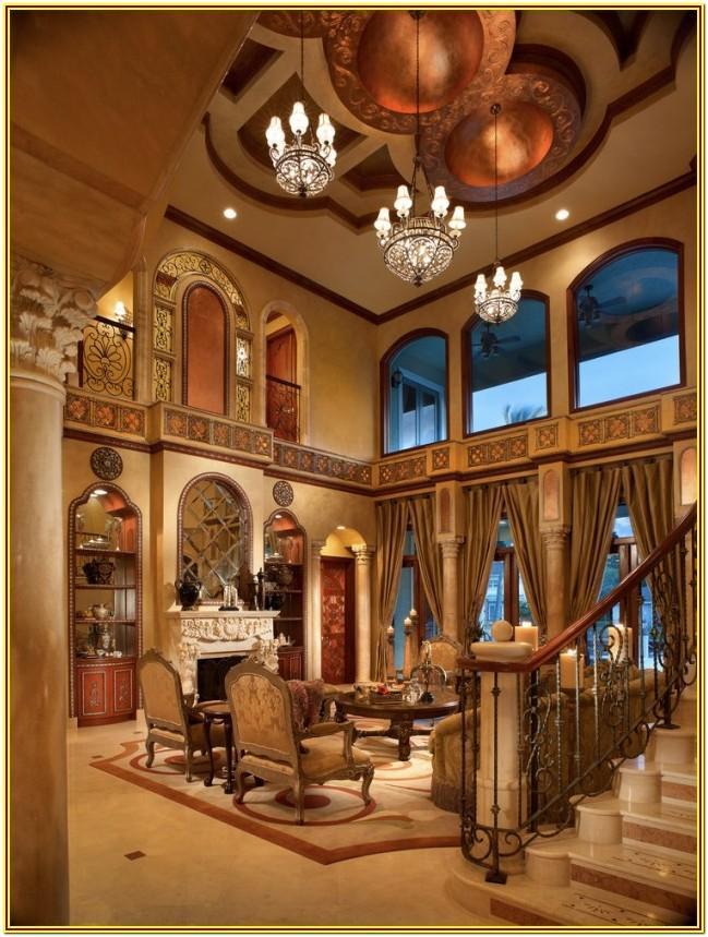 Living Room Mediterranean Style Furniture