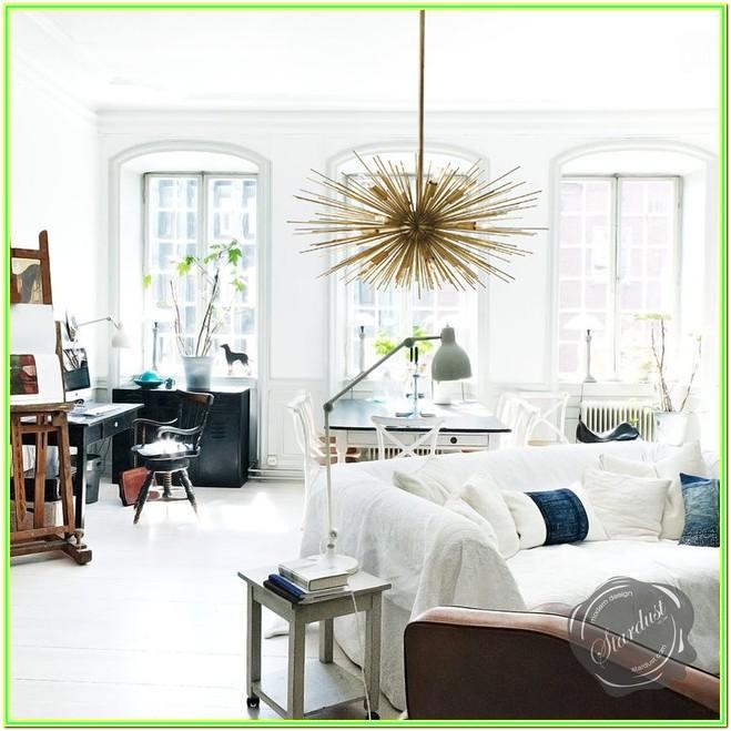 Living Room Mid Century Modern Chandelier