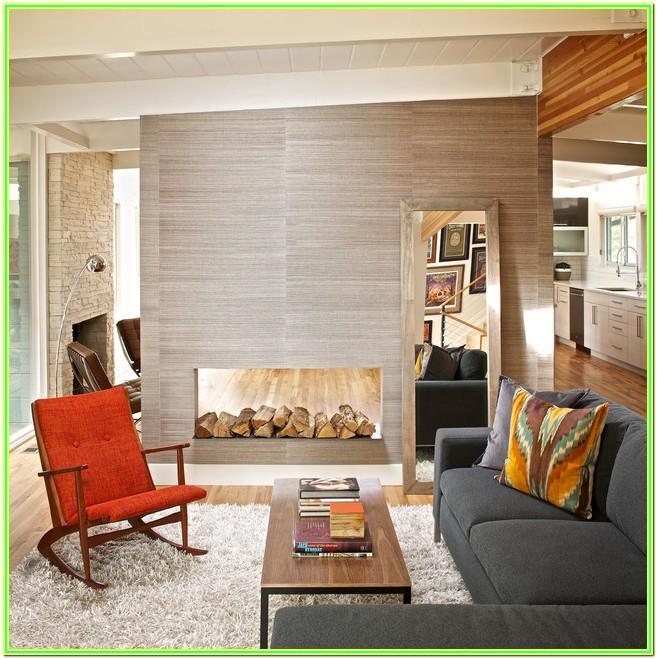 Living Room Mid Century Modern Interior