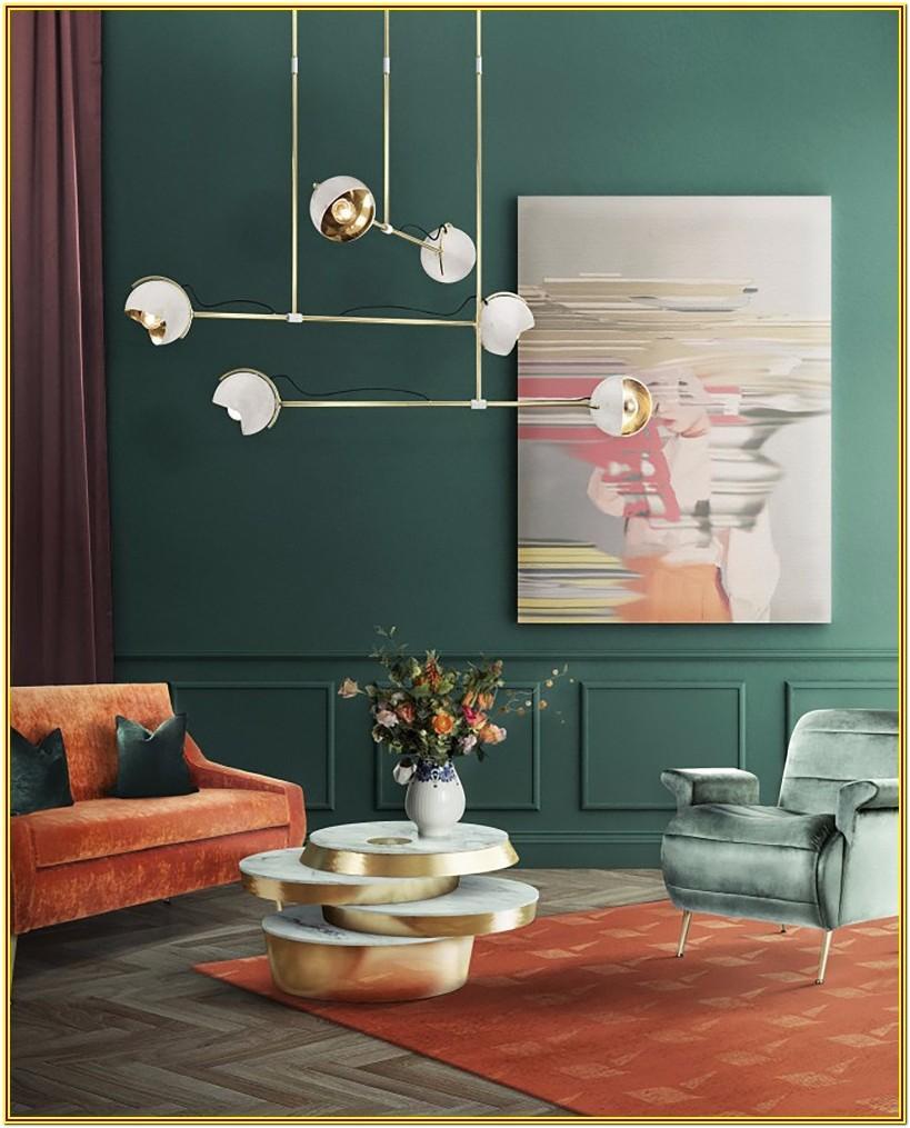Living Room Mid Century Modern Wall Decor