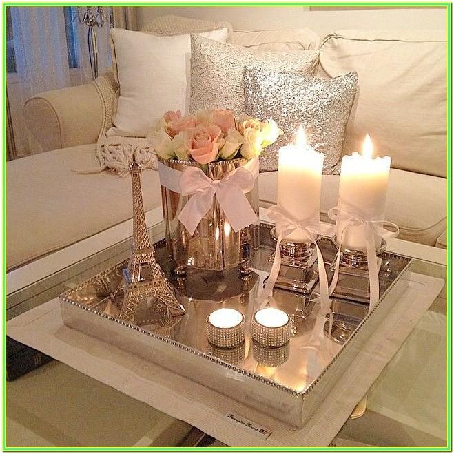 Living Room Middle Table Decor