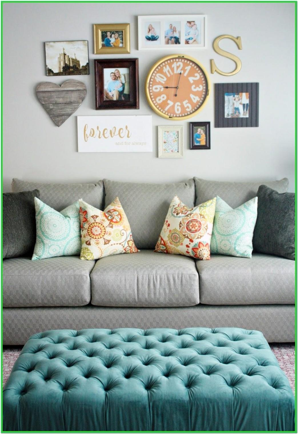 Living Room Mirror Collage Wall Ideas