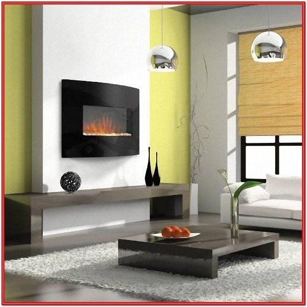 Living Room Modern Electric Fireplace Ideas