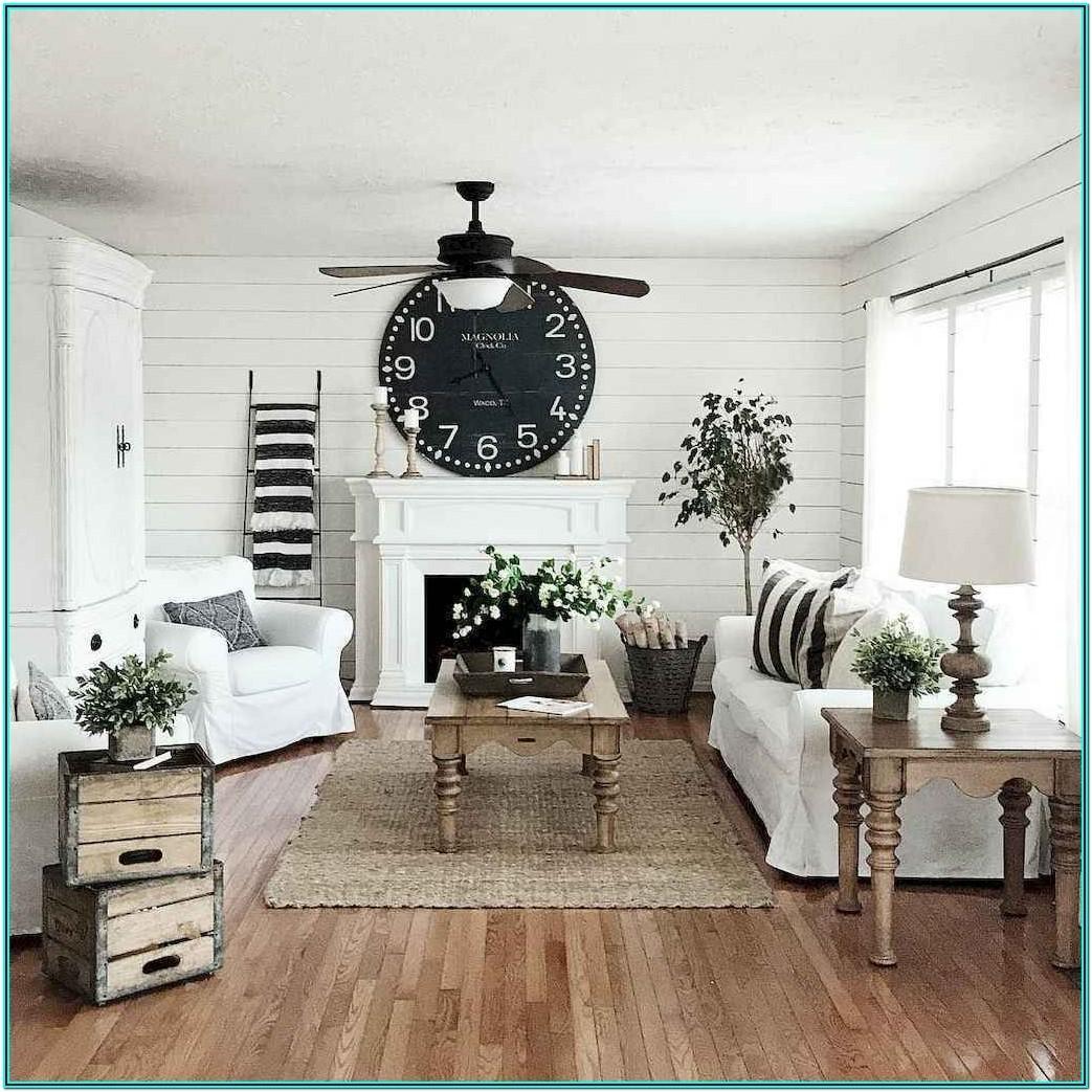 Living Room Modern Farmhouse Decorating Ideas
