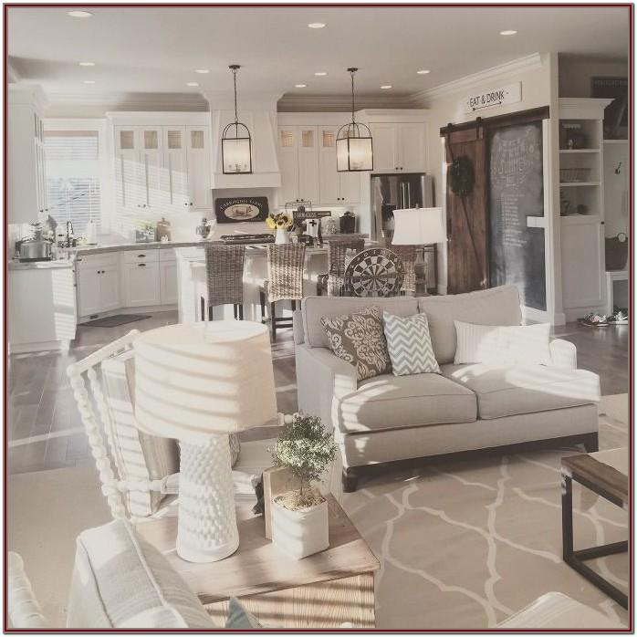 Living Room Modern Farmhouse Interior Design Ideas