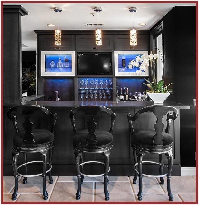 Living Room Modern Home Mini Bar Ideas