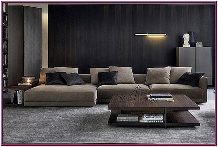 Living Room Modern L Shaped Couch