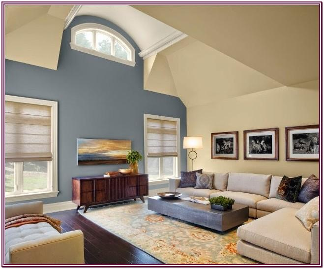 Living Room One Wall Color Ideas
