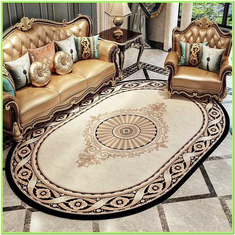 Living Room Oval Area Rugs