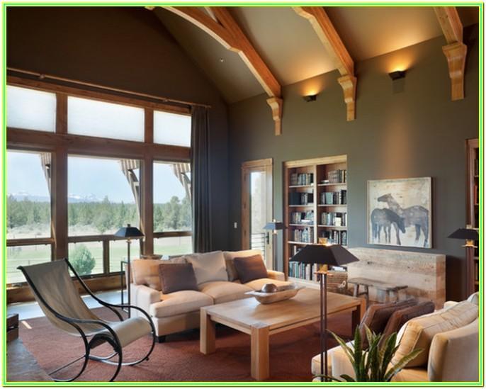 Living Room Paint Colors With Oak Trim