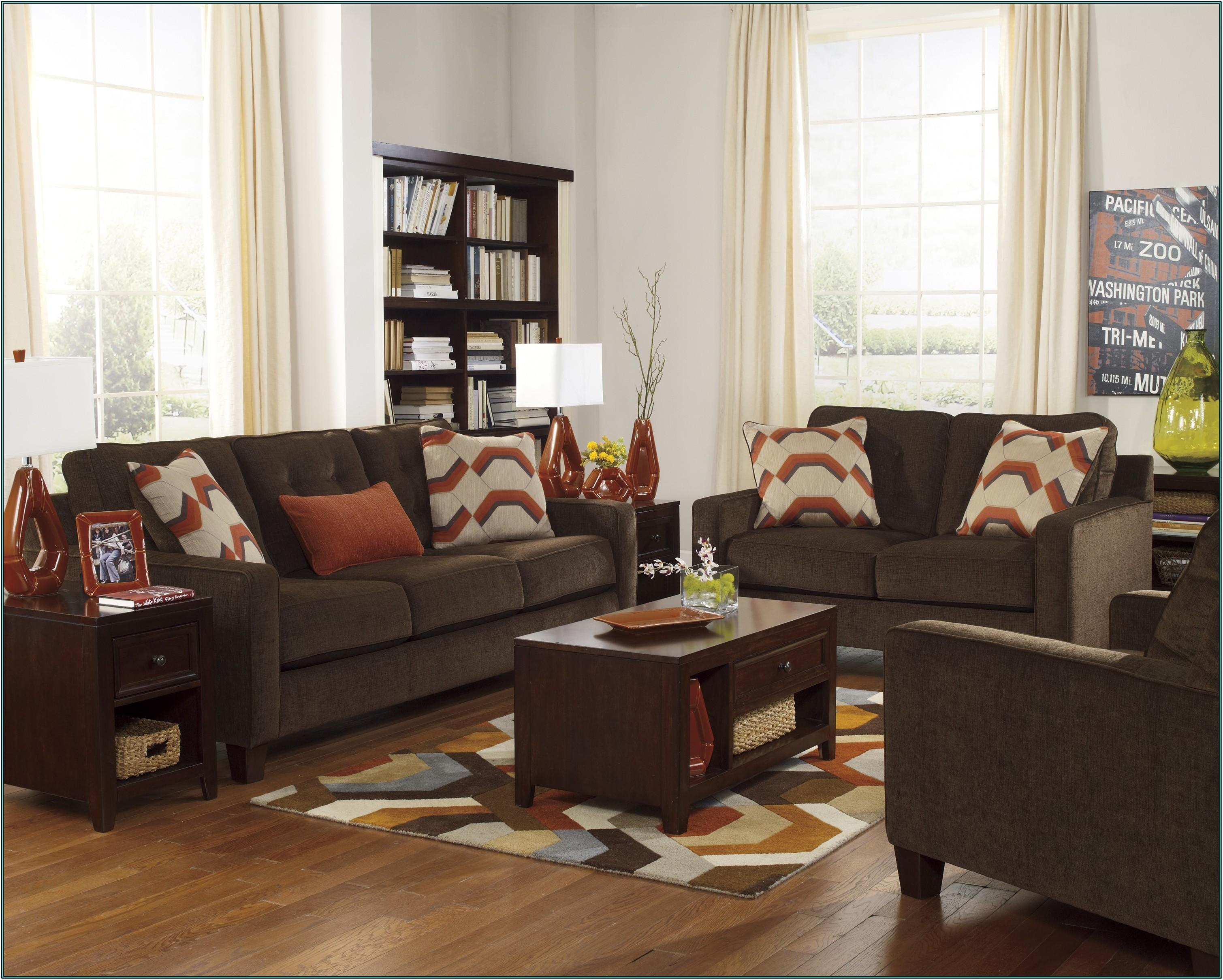 Living Room Paint Ideas For Dark Brown Furniture