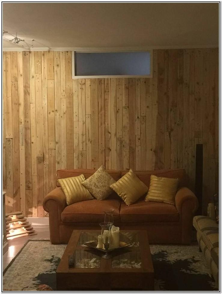 Living Room Pallet Wall Decor Ideas