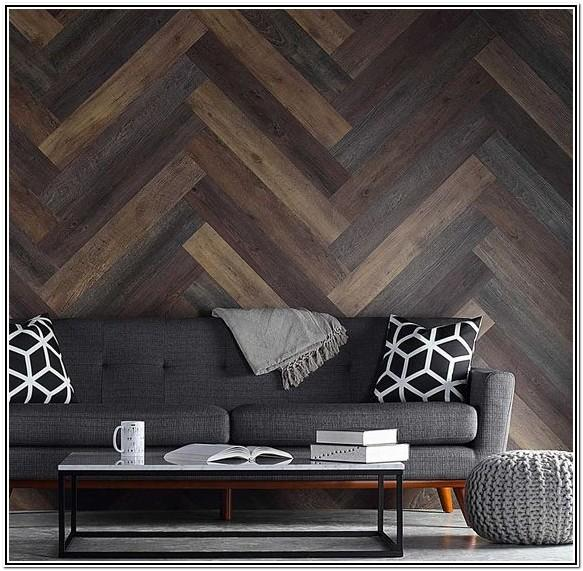 Living Room Pallet Wood Wall Ideas