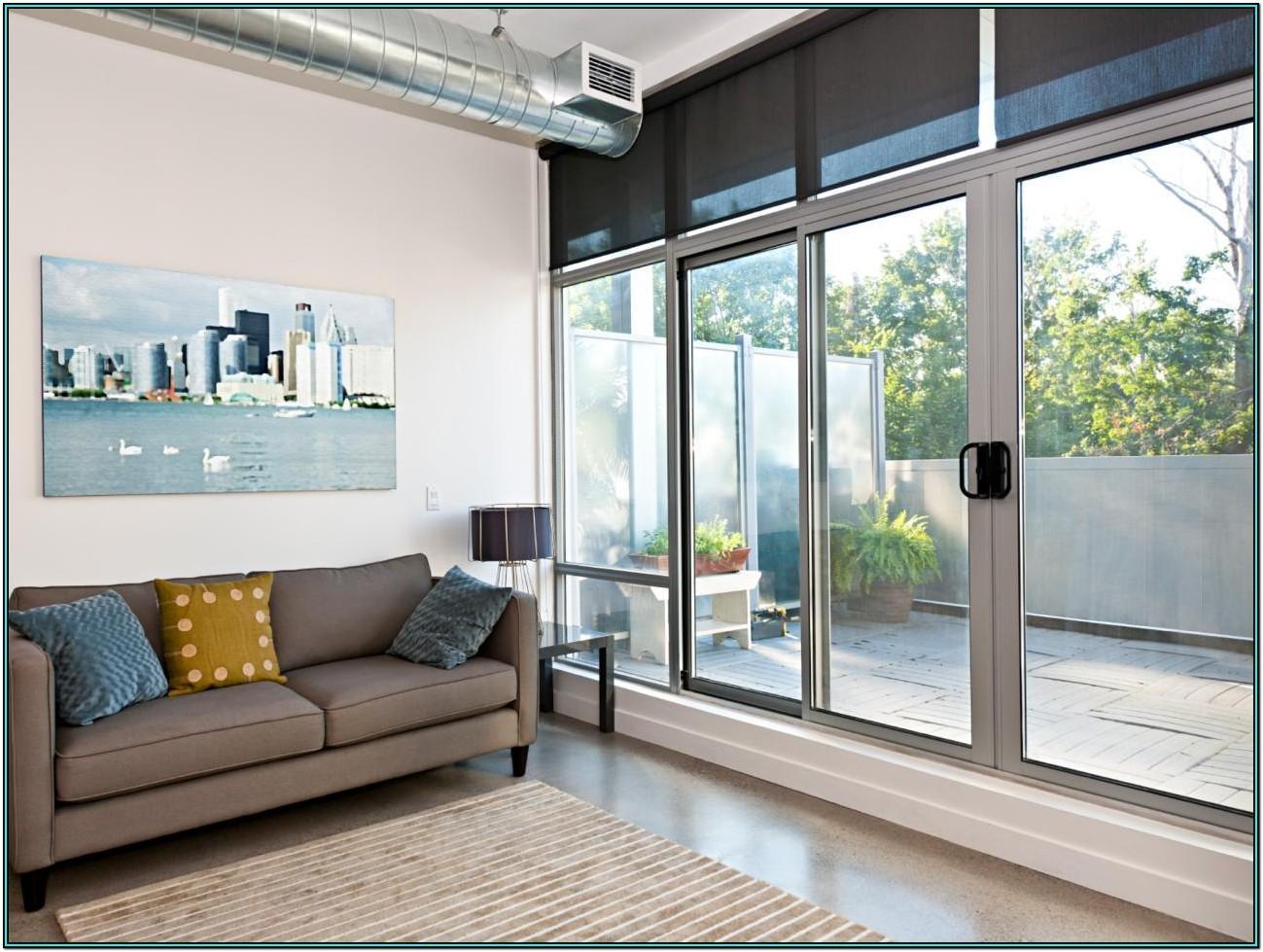 Living Room Patio Living Room Sliding Glass Doors