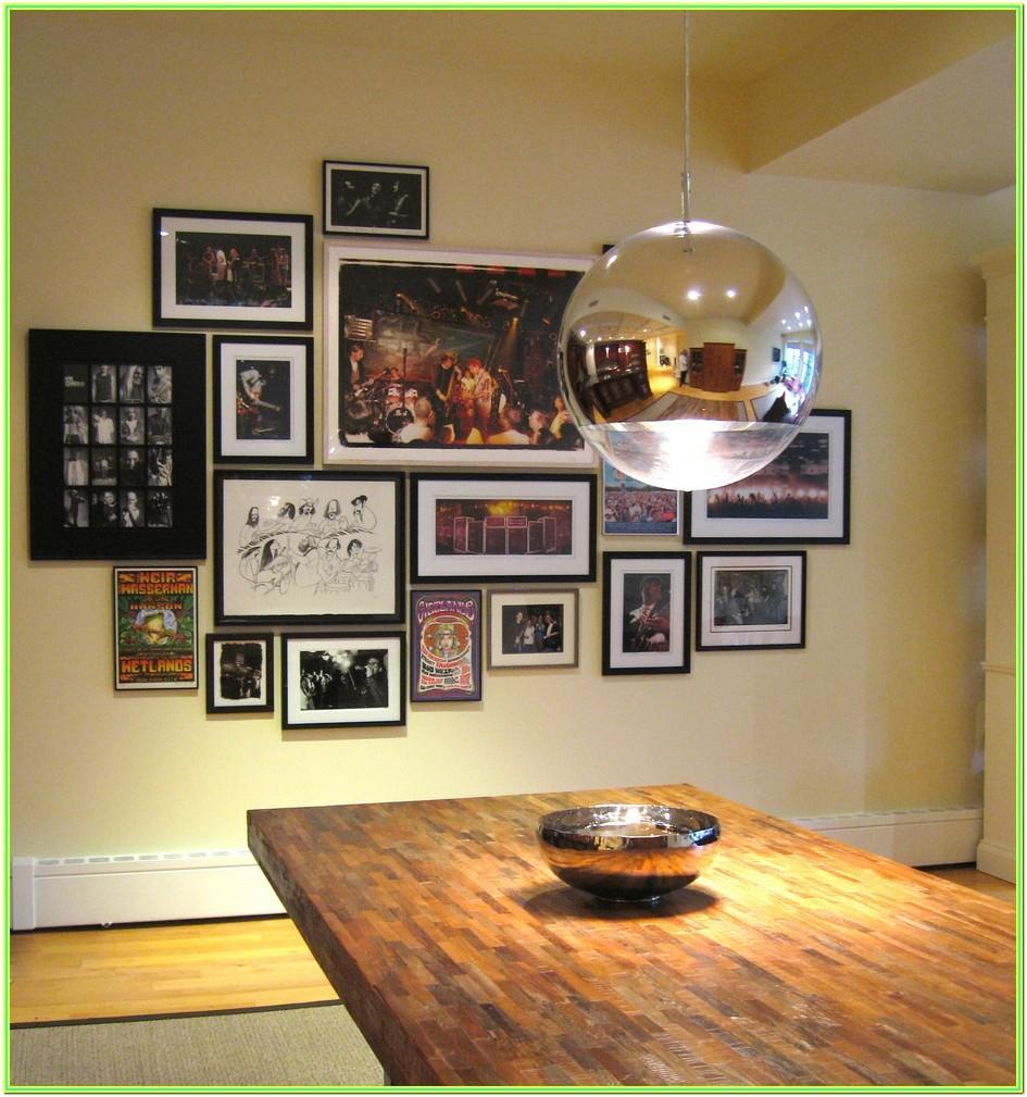 Living Room Photo Frame Decor Ideas