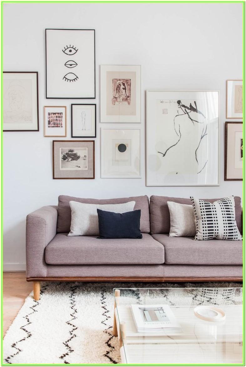 Living Room Photo Wall Ideas