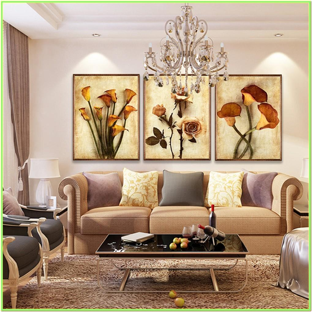 Living Room Pictures Of Wall Painting Designs