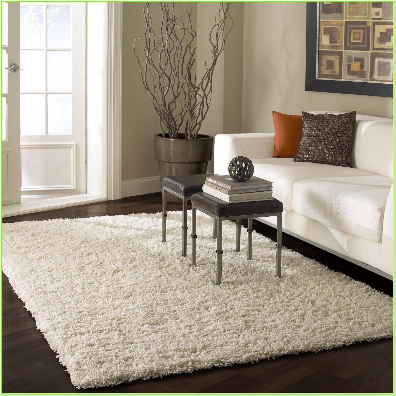 Living Room Plush Area Rugs