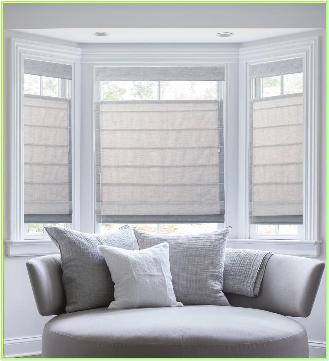 Living Room Roman Blinds Ideas