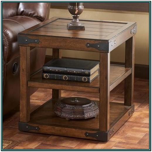 Living Room Rustic End Tables