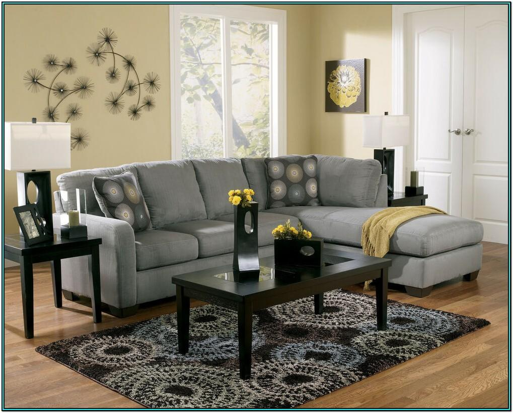 Living Room Sectional Couch With Ottoman