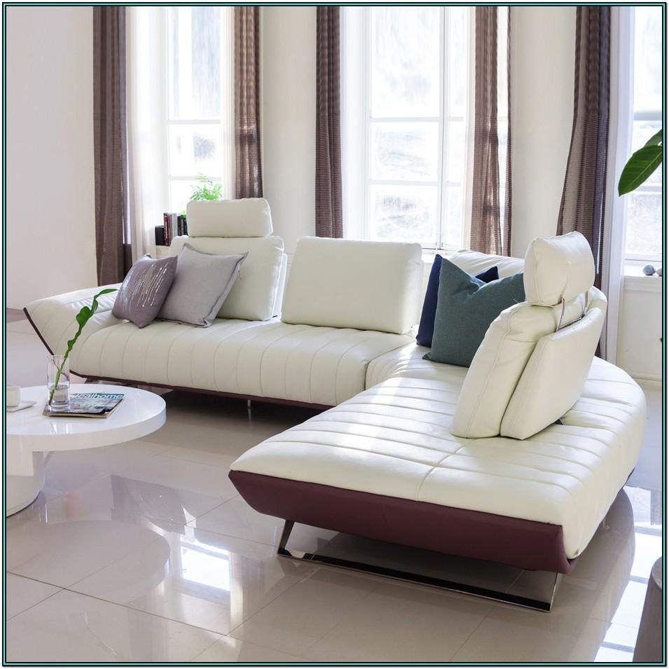 Living Room Sectional With Ottoman