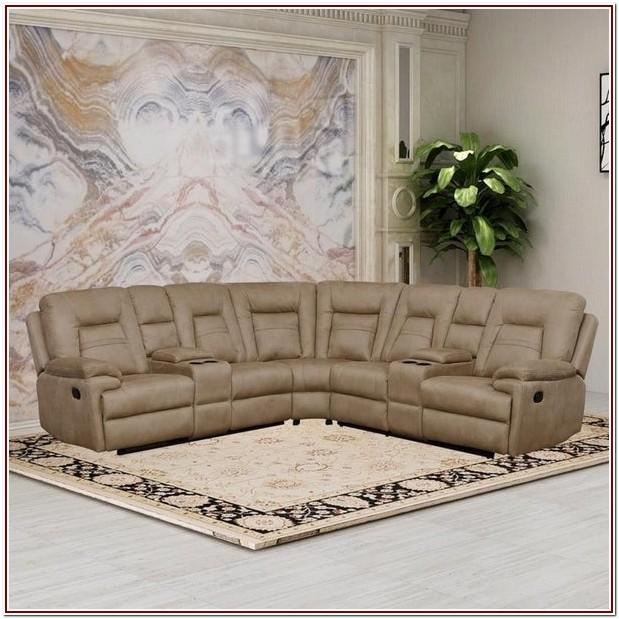 Living Room Set With Reclining Loveseat