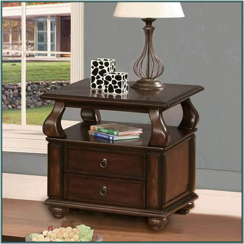Living Room Side Table Designs With Drawers