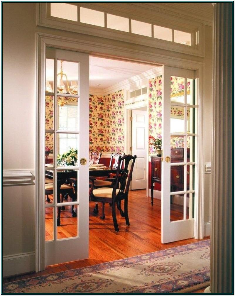 Living Room Sliding Glass Doors Interior